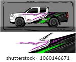 modern truck graphic. abstract... | Shutterstock .eps vector #1060146671