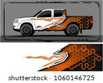 modern truck graphic. abstract... | Shutterstock .eps vector #1060146725