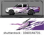 modern truck graphic. abstract... | Shutterstock .eps vector #1060146731