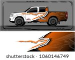 modern truck graphic. abstract... | Shutterstock .eps vector #1060146749