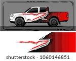 modern truck graphic. abstract... | Shutterstock .eps vector #1060146851