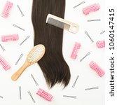 hairdresser tool for hair...   Shutterstock . vector #1060147415