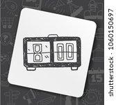 icon idea art fire sign | Shutterstock .eps vector #1060150697
