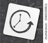 icon idea art fire sign | Shutterstock .eps vector #1060150811