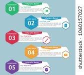 work infographic banner...   Shutterstock .eps vector #1060157027