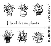 set of different hand drawn... | Shutterstock .eps vector #1060169927