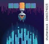 vector illustration of sci fi...   Shutterstock .eps vector #1060174025