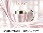moisture serum ads  cosmetic... | Shutterstock .eps vector #1060174994