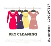 dry cleaning service poster... | Shutterstock .eps vector #1060197917