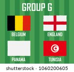 soccer cup team group g.... | Shutterstock .eps vector #1060200605
