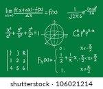 vector class blackboard of... | Shutterstock .eps vector #106021214