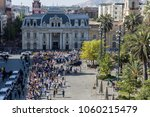 santiago  chile   january 16 ... | Shutterstock . vector #1060215479