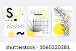 universal trend poster... | Shutterstock .eps vector #1060220381