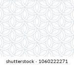 flower geometric pattern.... | Shutterstock .eps vector #1060222271