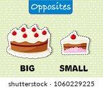 opposite words for big and...   Shutterstock .eps vector #1060229225
