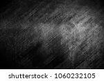 grunge black metal plate... | Shutterstock . vector #1060232105