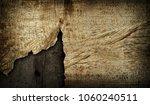 cracked wood board bckground | Shutterstock . vector #1060240511