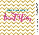 vector illustration of birthday ...   Shutterstock .eps vector #1060246505