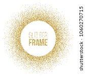 round frame made of golden... | Shutterstock .eps vector #1060270715