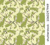unusual ufo camouflage  ... | Shutterstock .eps vector #1060297949