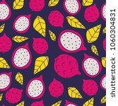 seamless pattern with bright... | Shutterstock .eps vector #1060304831