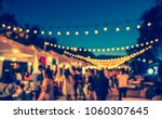 abstract blurred image of night ... | Shutterstock . vector #1060307645