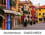 the historic center of caorle... | Shutterstock . vector #1060314824