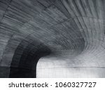 architecture details wall curve ... | Shutterstock . vector #1060327727