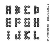 bike or bicycle chain vector... | Shutterstock .eps vector #1060332671