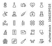 pharmaceutical icon set....   Shutterstock .eps vector #1060339535