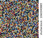 dotted seamless texture with... | Shutterstock .eps vector #1060340885