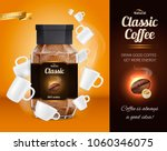 natural classic coffee... | Shutterstock .eps vector #1060346075