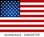 american flag for independence... | Shutterstock .eps vector #106034729