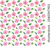seamless floral background.... | Shutterstock . vector #1060347401