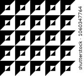 op art pattern with black and... | Shutterstock .eps vector #1060347764