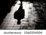 Blurry Shadow And Silhouette O...