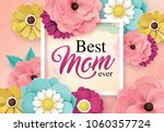 happy mother's day greeting... | Shutterstock .eps vector #1060357724