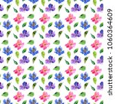 seamless floral background.... | Shutterstock . vector #1060364609