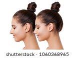 plastic surgery. beautiful... | Shutterstock . vector #1060368965