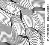 wave lines pattern abstract... | Shutterstock .eps vector #1060385864