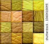 seamless leather patchwork... | Shutterstock . vector #1060410095