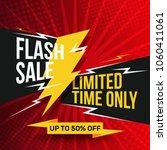 sale banner template design... | Shutterstock .eps vector #1060411061