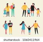 vector illustration in flat... | Shutterstock .eps vector #1060411964
