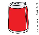 soda can cartoon illustration... | Shutterstock .eps vector #1060412621