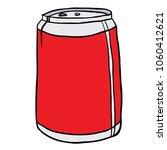 soda can cartoon illustration... | Shutterstock .eps vector #1060412621