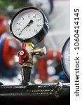 pressure gauge for measuring... | Shutterstock . vector #1060414145