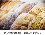 freshly baked bread and bakery... | Shutterstock . vector #1060414439