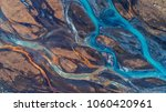 aerial view and top view river... | Shutterstock . vector #1060420961