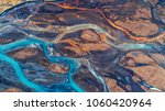 aerial view and top view river... | Shutterstock . vector #1060420964