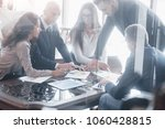 young team of coworkers making... | Shutterstock . vector #1060428815